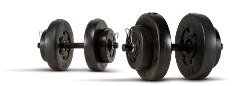 Marcy 40-Pound Vinyl Covered Dumbbell Set