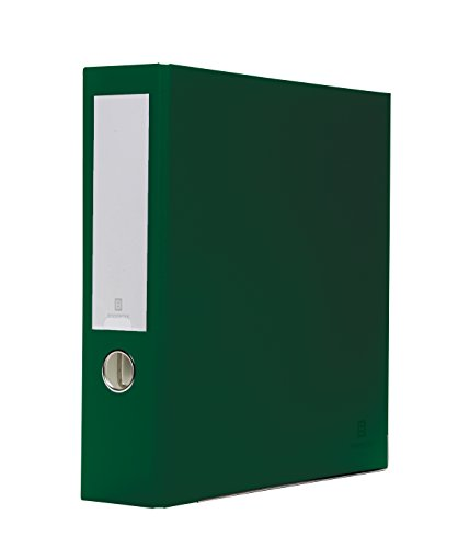 Bindertek 3-Ring 3-Inch Premium Binders, Evergreen (Premium 3 Ring)