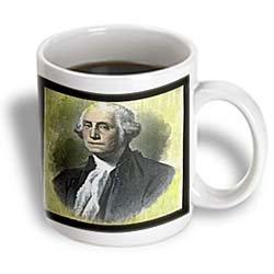 3dRose George Washington by The Victor Animatograph Co Ceramic Mug, (George Mug)