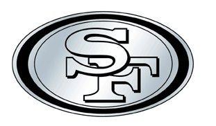e1f8db6d San Francisco 49ers Silver Auto Emblem *SALE*