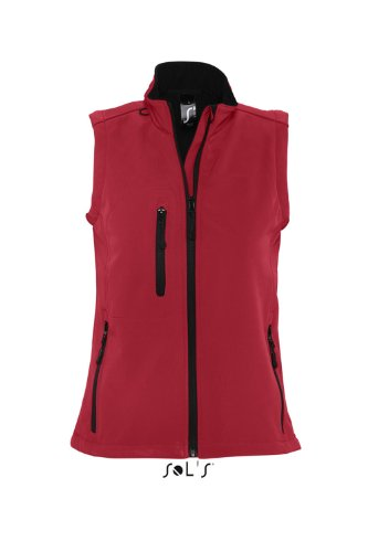 Sol 's – Womens Short Sleeve Softshell Rallye rojo