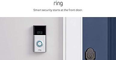 Ring Video Doorbell 2 con Video HD, Alertas activadas con sensor de movimiento, Fácil de Instalar