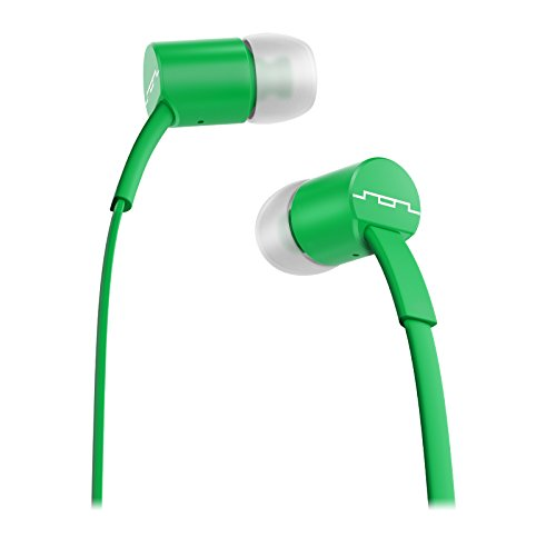 SOL REPUBLIC Jax In-Ear Headphones with Single-Button Remote and Microphone (Spearmint)