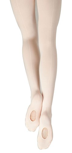 Capezio Mesh Transition Tight with Mock Seam Style:18 Size L/XL Ballet (Athletic Mesh Tights)