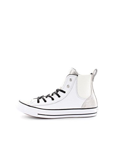 Star Bianco Chelsee Converse Argento Hi x7wqfqdRY