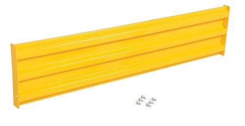 Vestil YGR-B-6 Bolt-On Style Guard Rail44; Yellow - 6 ft. by Vestil