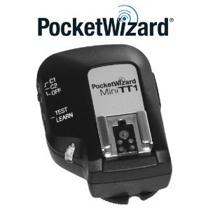PocketWizard MiniTT1 Radio Transmitter for Nikon TTL Flashes and Digital SLR Cameras by PocketWizard