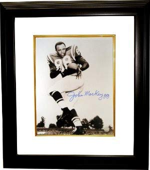 John Mackey Autographed Signed Baltimore Colts 16x20 Deluxe Framed Photo - Certified Authentic