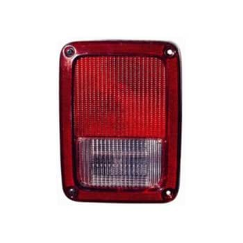 Jeep Wrangler 07 10 Rear Tail Light Lamp With Bulb Lh
