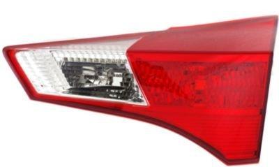 Crash Parts Plus Right Passenger Side Tail Light Tail Lamp for 2013-2015 Toyota RAV4