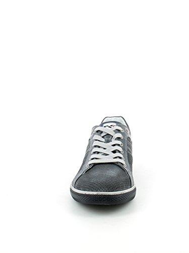Jeans In Camoscio Forata sneaker Blu Nerogiardini 1wOU8FOq