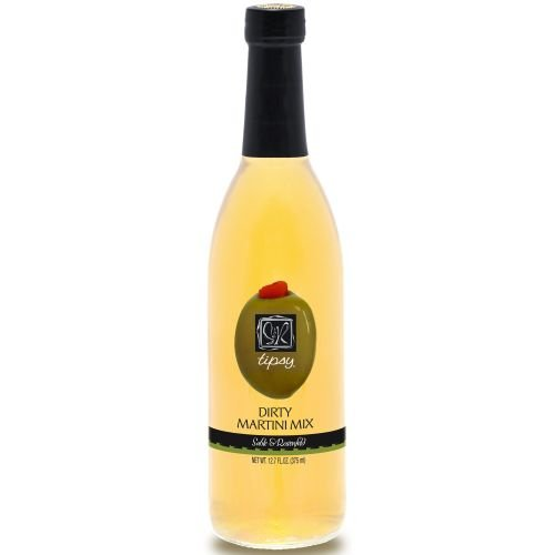 Sable and Rosenfeld Tipsy Dirty Martini Mix, 12.7 Fluid Ounce - 6 per case.