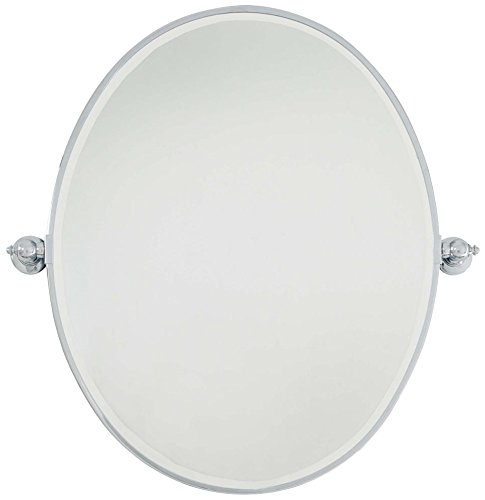 Minka Lavery 1433-77 Bevelled Oval Bath Mirror, Large,