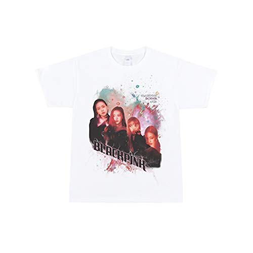 YG Select Official Merchandise Blackpink Kill This Love T-Shirts_TYPE2 (M-XL) (White, M)