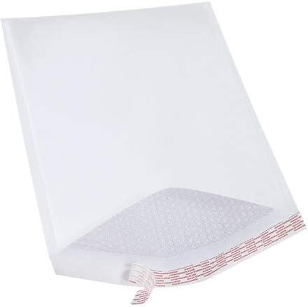 "250 #000 WHITE Kraft Bubble Shipping Mailers Envelopes Bags 4/"" x 8/"""