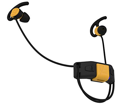 SlimBuds Headphones - Fit Under Any Helmet - Wireless Slim Helmet Headphones - Reduces Wind and Engine Noise - Wind Resistant Mic - HD Sound w/Bass - for Motorcycle, Ski, Biking and Everyday Use
