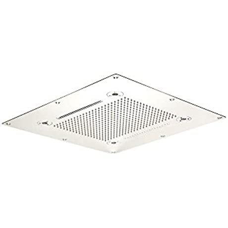 Aquabrass 928 PSS Cura 30 X 30 Recessed Rain Head Polished Stainless