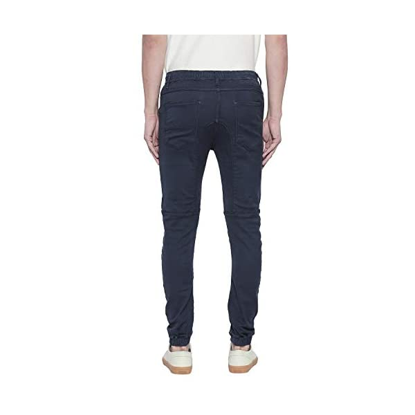 Mufti Men's Slim Fit Regular Jeans 2021 August Care Instructions: Cold machine wash use mild detergent & turn inside out before washing and drying do not bleach warm iron if needed Fit Type: Regular Material Composition: 86 % Cotton +12% Polyester +2 % Elastane