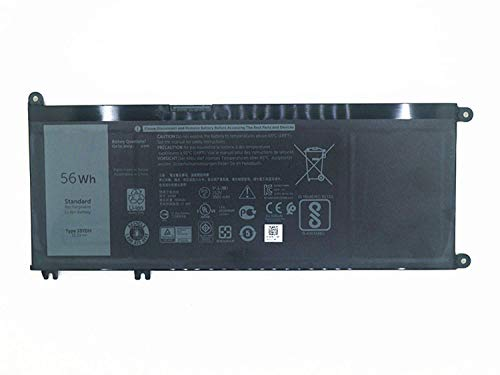 Fully 33YDH Replacement Laptop Battery Compatible with Dell Inspiron 13 7353 17 7000 7773 7778 7779 Series Notebook PVHT1 DNCWSCB6106B - 15.2V 56Wh/3500mAh 3500 Series Notebook Battery