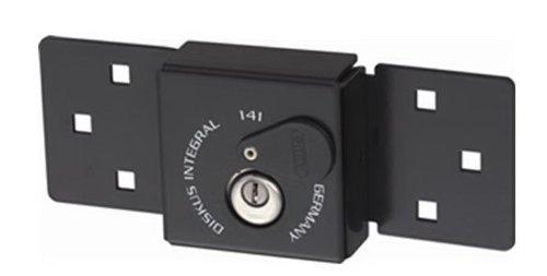 Abus 141/200 Black with Diskus 26/70 KA Van Door Lock & Hasp Combo, Keyed Alike (KA) by ABUS