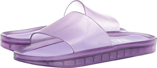 Melissa Shoes Women's Beach Slide AD Lilac Summer 9 M US