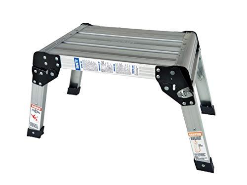 - Neocraft 60635 Heavy Duty Aluminum Stool - 350Lbs. Capacity, Silver