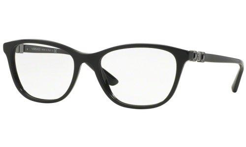 5ad792a2dba913 Versace Montures de lunettes 3213B Pour Femme Black, 52mm  Amazon.fr ...