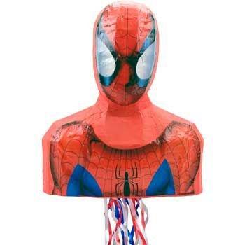 Hallmark - Spider-Man 17'' Pull-String Pinata by Unique Industries