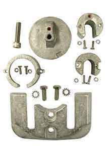 Mercruiser Anode Kit Aluminum Bravo 1 Part# PMC10059A