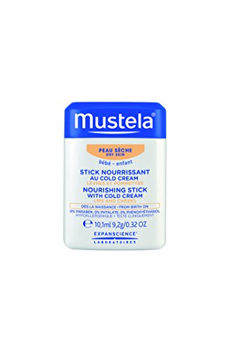 Mustela Nourishing Stick With Cold Cream, 0.32 oz.