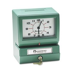 * Model 150 Analog Automatic Print Time Clock with Month/Date/1-12 Hours