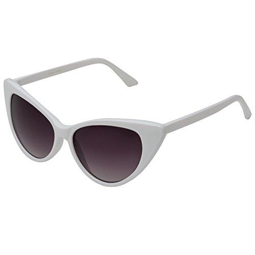 b34f29ab3cc Kimorn Cat Eye Sunglasses Women Clout Goggles Kurt Cobain Retro Sun ...