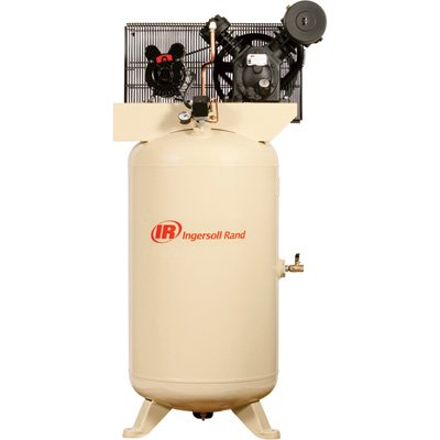 Ingersoll Rand Type-30 Reciprocating Air Compressor - 5 HP, 80 Gallon, 460 Volt 3 Phase, Model# 2340N5-V 45465028