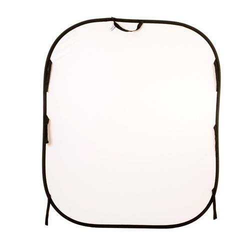 Lastolite LL LB56GW Reversible 5-Feetx6-Feet Plain Collapsible Background (White /Mid...