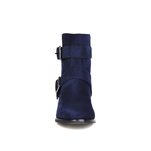 Low boots Donna blue stivali con n8EgwRXv