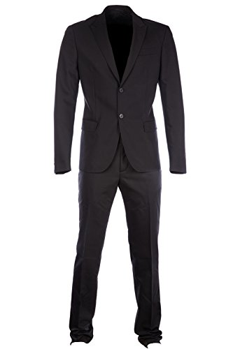 Dirk Bikkembergs costume pour homme noir
