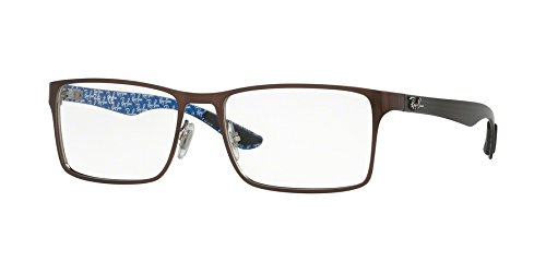 Eyeglasses Ray-Ban Optical RX 8415 2862 TOP BRUSCHED BROWN ON - Ray 8415 Ban