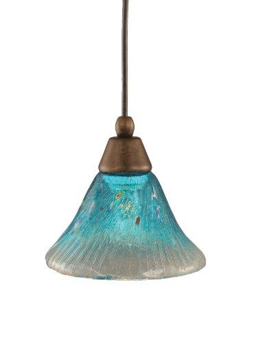 Teal Blue Pendant Light - 3