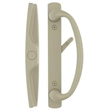 Euro-charlotteu0026quot; Sliding Door Handle Set in Tan Finish Fits 3-15/  sc 1 st  Amazon.com & Euro-charlotte