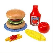 Meal Set Mini (Fisher-Price Mini Meal Set - Burger)