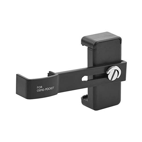 Andoer Extension Smart Phone Holder, Cell Phone Bracket Set, Handheld Mobile Phone Fixing Clip Extension Mount Bracket Compatible with DJI Osmo Pocket Handheld Gimbal Camera