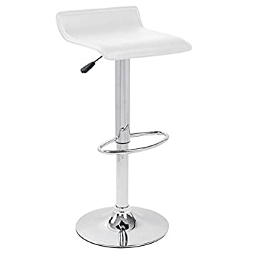 Awesome Amazon Com Lumisource Ale Barstool White Kitchen Dining Alphanode Cool Chair Designs And Ideas Alphanodeonline
