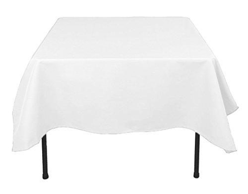 "TEKTRUM 70 X 70 INCH 70""X70"" SQUARE POLYESTER TABLECLOTH - T"