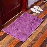 Counteractive Sneak Welcome Anti Slip Doormat Carpets Mats & Rugs - Kc-333 40x60cm Chenille Fine Hair Soft Mat Machine Washable Bathroom Anti Slip Absorbent Carpet Doormat - Teddies - 1PCs