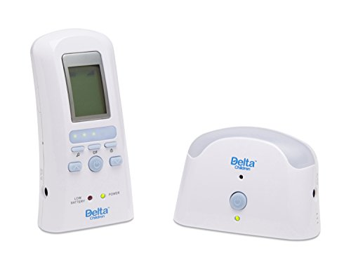 Delta Children Safe-N-Clear Digital Baby Monitor with Talk Back Feature and Temperature Sensor (Audio Controlled Monitor)