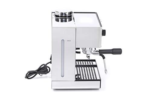 Lelit PL042TEMD Independiente Manual Máquina espresso 2.7L 2tazas Acero inoxidable - Cafetera (Independiente, Máquina espresso, 2,7 L, Molinillo integrado, ...