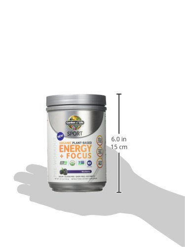 Mua garden of life sport organic pre workout energy plus focus vegan energy powder blackberry for Garden of life energy and focus