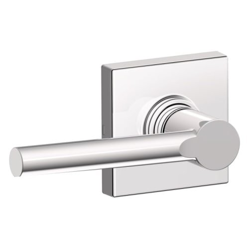Schlage J10BRW625COL Brentwood Passage Door Lever Set with Decorative Colton Trim from The J-Series ()