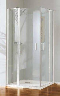 Mampara de ducha Polaris Deluxe acceso de ángulo con cristal 6 mm: Amazon.es: Bricolaje y herramientas