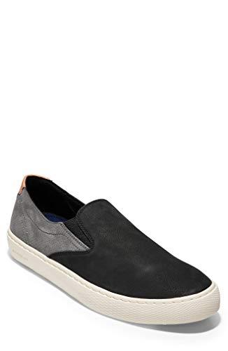 - Cole Haan Men's Grandpro Deck Slip-ON Sneaker, Caviar, 12 M US
